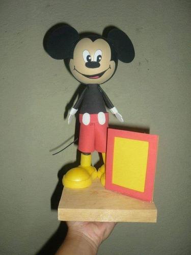 fofucho micky mouse con porta retrato