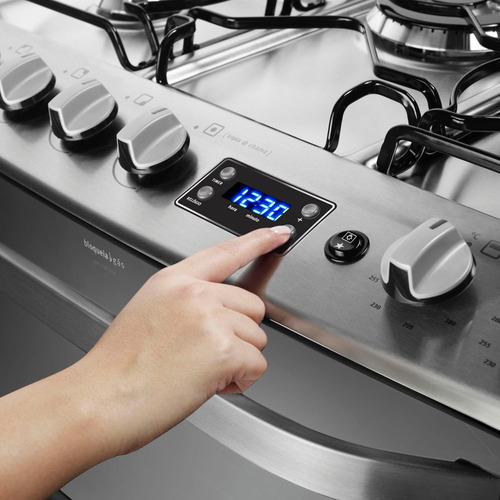 fogao electrolux 5 bocas 76rxd forno duplo digital bivolt