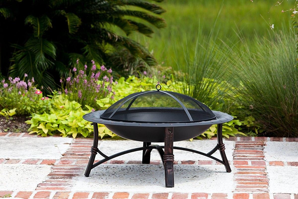 Fogata Exterior Fire Pit Patio Lena Jardin Chimenea 568980 En - Chimenea-jardin