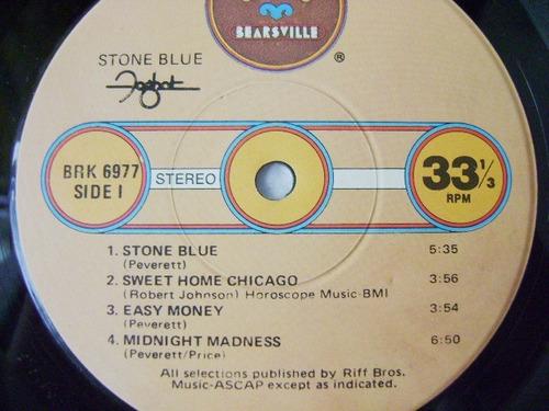 foghat /  stone blue 1 disco  lp vinil