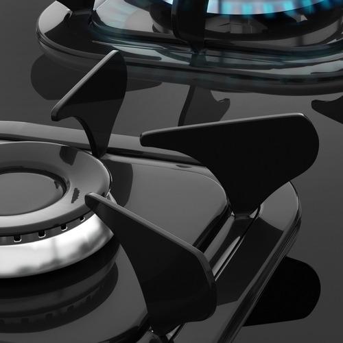 fogão 5 bocas acendimento automático piacere vetro hb