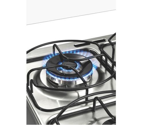 fogão brastemp 4 bocas cor inox com grill bf150ar