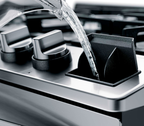 fogão brastemp 5 bocas cor inox forno elétrico bfs5ccr