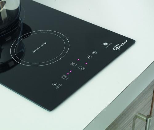 fogão cooktop fischer 2 bocas indução mesa vitrocerâmica 220