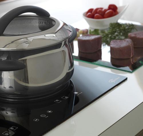 fogão cooktop fischer 4 boca indução mesa vitrocerâmica 220v