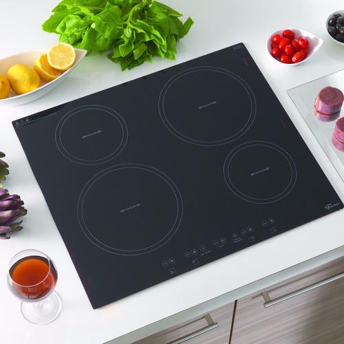 fogão cooktop fischer 4 bocas de indução - 220v