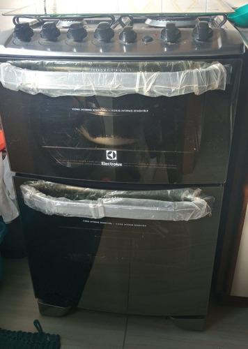 fogão electrolux 220w _ forno duplo. 3 mês de uso.