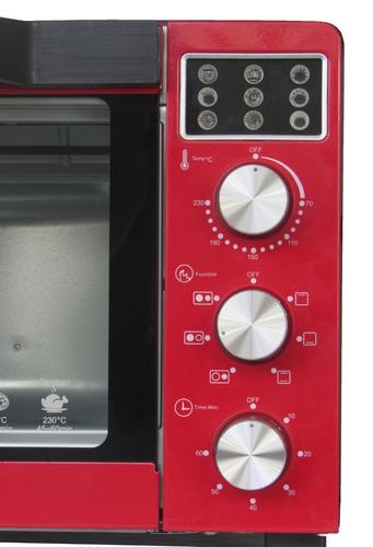 fogão elétrico 2 bocas com forno 35l 1500w