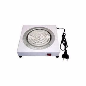 fogão elétrico fogareiro branco narguile 1 boca - 110v