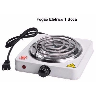 fogão fogareiro elétrico 1 boca 110v 1000w sonaki