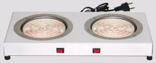 fogão fogareiro elétrico c/ duas bocas 110v mega promoção