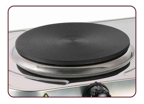 fogão fogareiro elétrico portátil safanelli mesa 1 boca