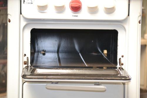 fogão forno dako  4 bocas esmaltado retro funciona ano 1970