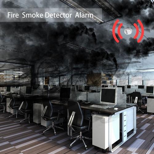 fogo fumo sensor detetor alarme testador casa segurança sist