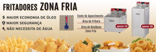 fogão industrial 4 bocas c/ forno braschama