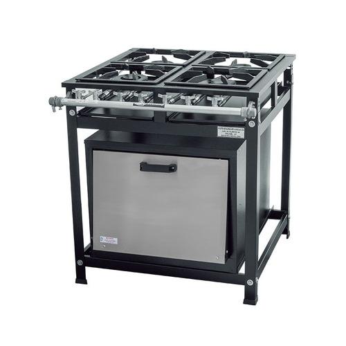 fogão industrial bocas forno
