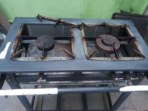 fogão industrial usado duas boca $150