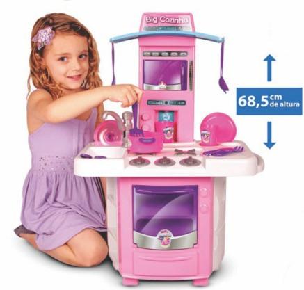 fogão infantil nova big cozinha apartir de 3 anos