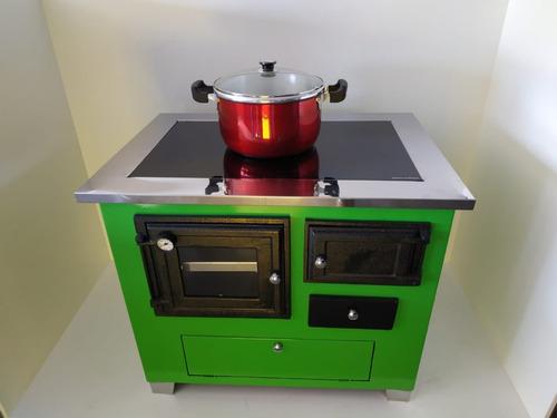 fogão vitrocerâmico verde