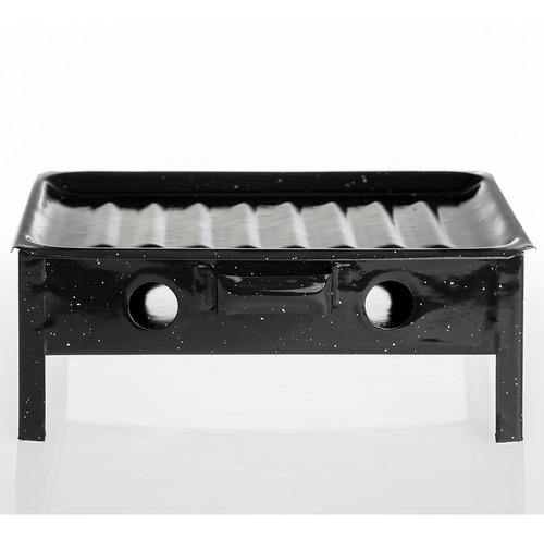 fogonero braseros de mesa enlozado mini parrilla asado