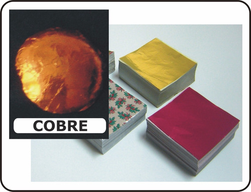 foil chocolates color cobre naranja