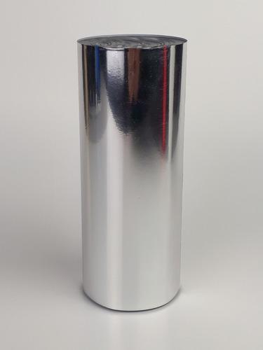 foil prata bobina com 5m x 15cm
