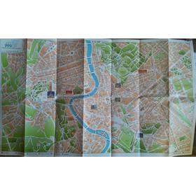 Folder 67x41: Mapa De Roma Com Pontos Turísticos