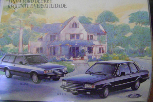 folder catalogo ford corcel 1985