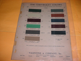 bb04c66ecf Catalogo Cores Chevrolet - Acessórios para Veículos no Mercado Livre ...