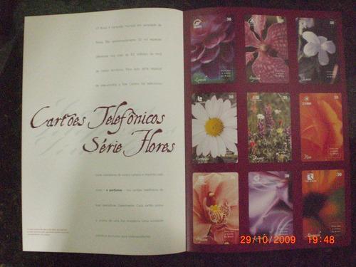 folder  da serie flores perfumadas