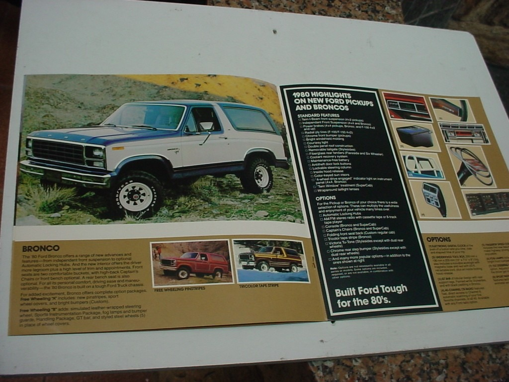 Folder Ford F150 Ranger Bronco Econoline Club Wagon 80 1980 R 29 Carregando Zoom
