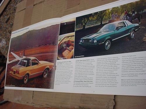 folder ford mustang 77 1977 gt hardtop svo fastback v8 cobra