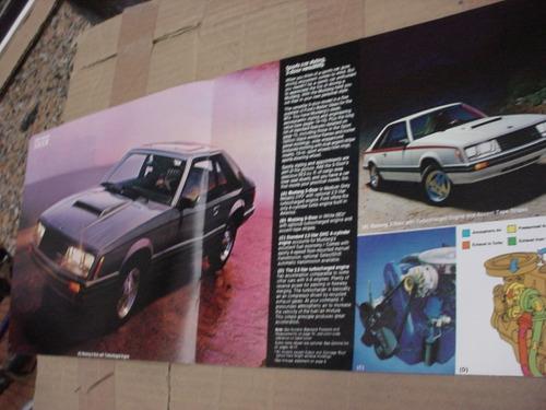 folder ford mustang 80 1980 gt hardtop svo fastback v8 cobra
