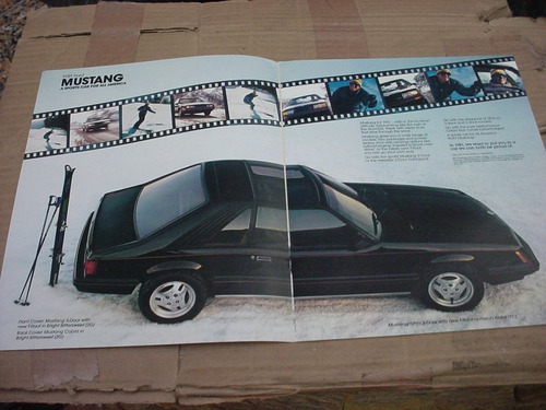 folder ford mustang 81 1981 gt hardtop svo fastback v8 cobra