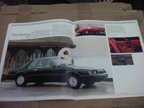 folder ford mustang 85 1985 gt hardtop svo fastback v8 cobra