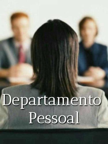 folha de pagamento - departamento pessoal