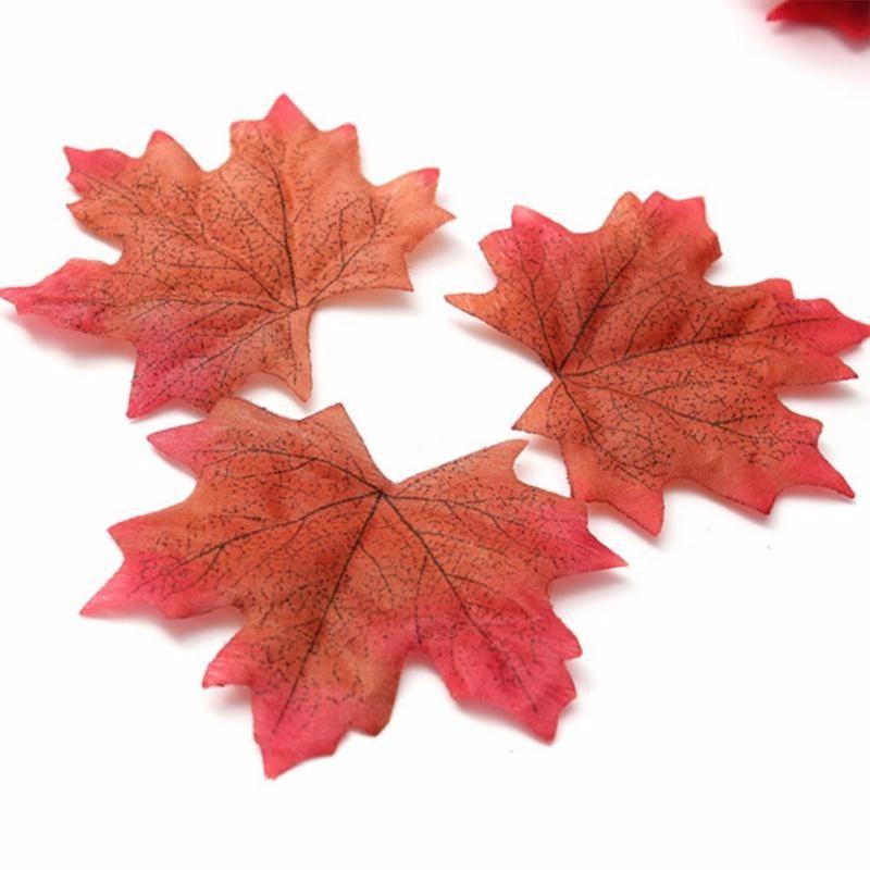 Folhas De Outono (maple Leaves) Decoraç u00e3o Halloween R$ 8,90 em Mercado Livre -> Decoração Festa Folhas De Outono