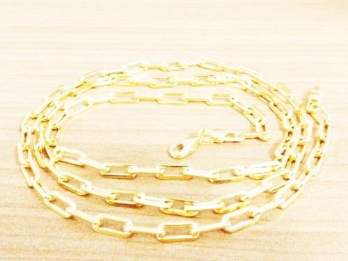 folheada ouro corrente