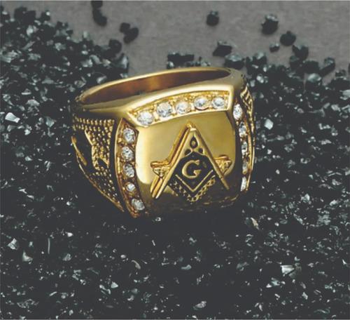 folheado ouro anel