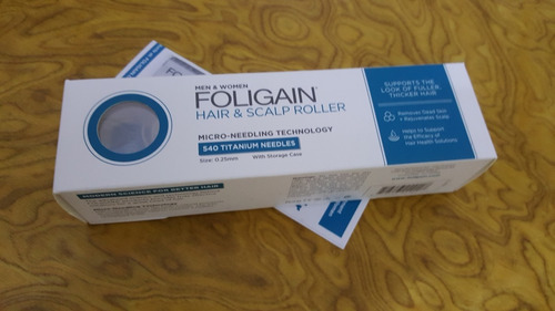 foligain rolo c/ agulhas de titânium