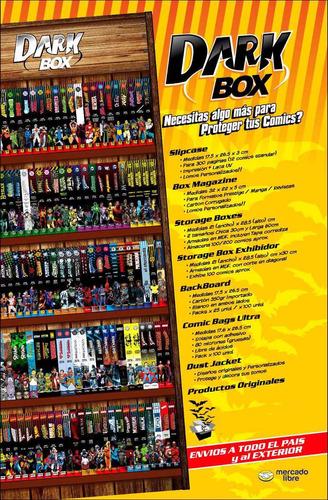 folio bolsa protectora para comics dc marvel salvat darkbox