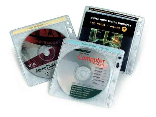 folio porta cd dvd por 40 unidades aidata archivo