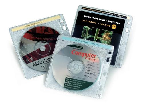 folio porta dvd cd por 100 unidades archivador organizador