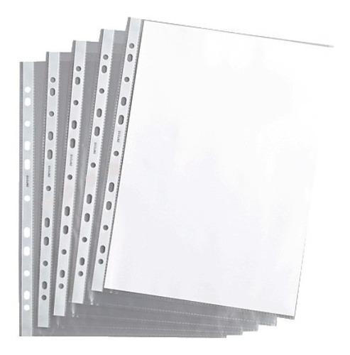 folio transparente a4 | 50 micrones | teoria+ | x100