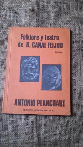 folklore y teatro de canal feijoo antonio planchart