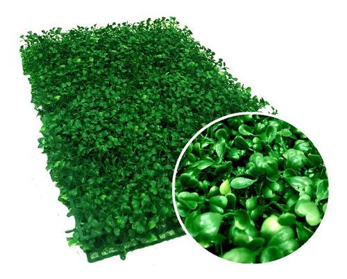 follaje artificial muro verde tupido 60 x 40 cm
