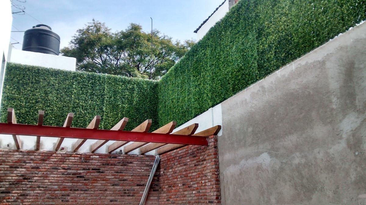 Follaje artificial muros verdes jardin vertical plantas for Muros de plantas verticales