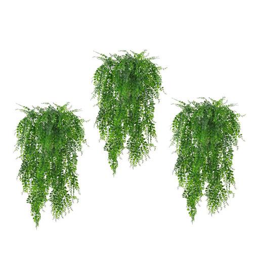 follaje artificial planta colgante de pared decoración boda