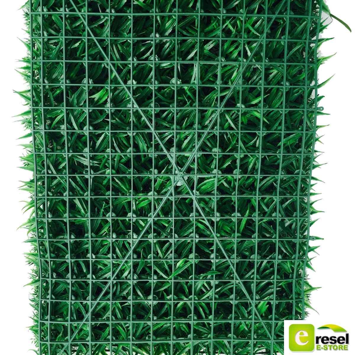 Follaje artificial plantas muro verde p1 60 x 40 cm 80 for Plantas para muros verdes exteriores