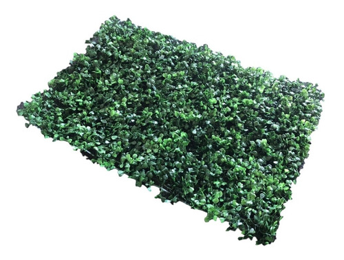 follaje artificial sintetico muro verde 10pzas 60 x 40 cm arrayan decoración de bardas y paredes cubre 2.4m2